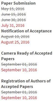 Постоянное продление сроков конференции