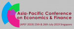 2019 Asia-Pacific Conference on Economics & Finance (APEF 2019)
